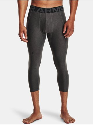 Legíny Under Armour HG Armour 3/4 Legging - šedá