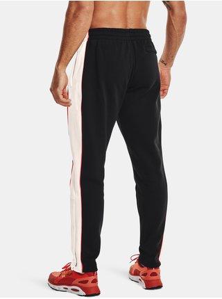 Kalhoty Under Armour RIVAL FLC AMP SNAP PANT - černá