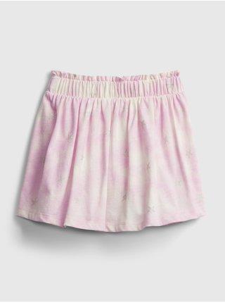 Růžová holčičí dětská sukně ptf skort