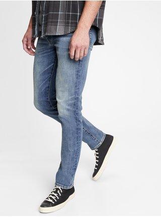 Modré pánské džíny soft wear slim taper with GapFlex