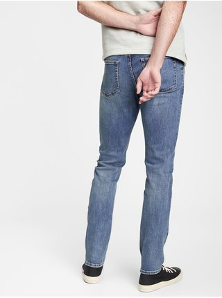 Džínsy soft wear Slim Taper with GapFlex Modrá