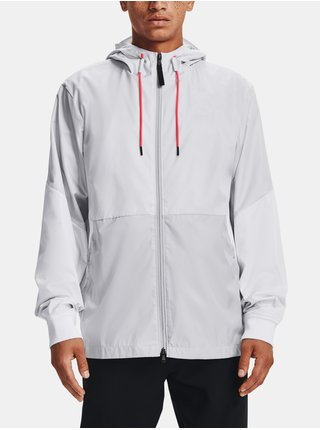Bunda Under Armour LEGACY WINDBREAKER - šedá