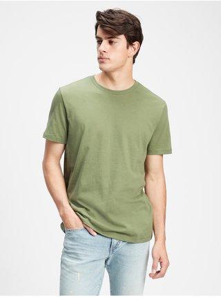Zelené pánské tričko v-ss evd crew fashion