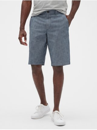 Modré pánské kraťasy v-hs - 10 in chambray short