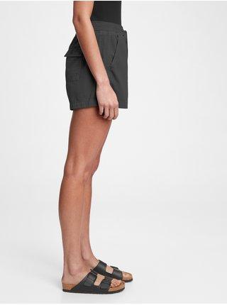 Černé dámské kraťasy pull-on short
