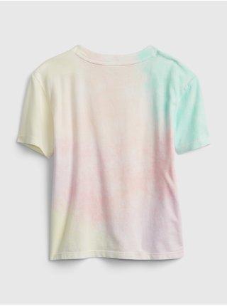 Barevné holčičí dětské tričko GAP Logo ie val gr t - feb