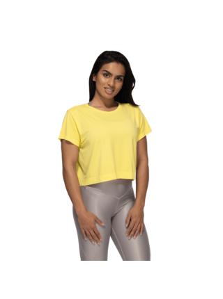 Tričko Better Bodies Rockaway Seamless Lemon Yellow