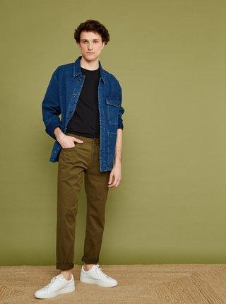 Khaki pánské slim fit kalhoty ZOOT Emanuel