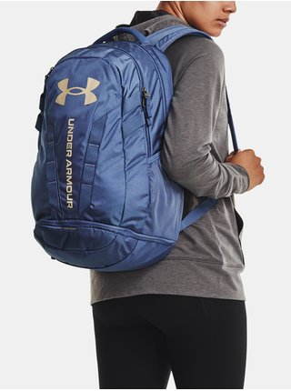 Batoh Under Armour Hustle 5.0 Backpack - modrá