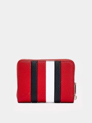 Tommy Hilfiger červená dámska peňaženka Essence s logom
