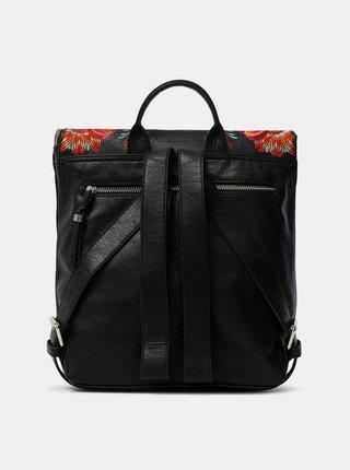 Desigual černý batoh Back Louvre Nerano