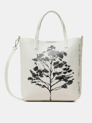 Desigual biele kabelka Bols Botanica Nerima