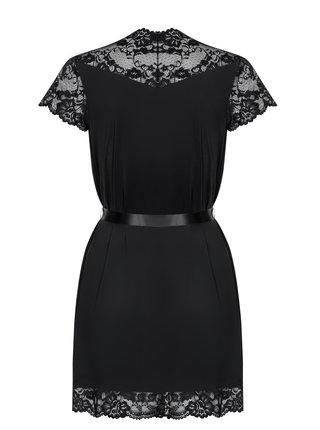 Elegantní župan 810 - PEI black - Obsessive Černá