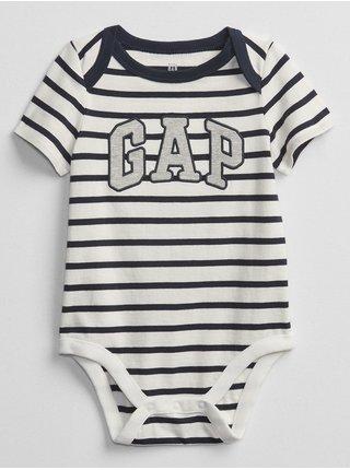 Barevné klučičí baby body GAP Logo v-b elv bs