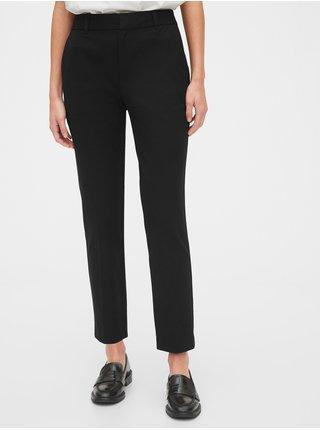 Černé dámské kalhoty slim ankle pants