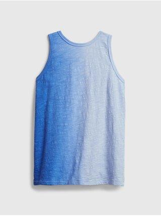 Detské tielko tie-dye tank Modrá