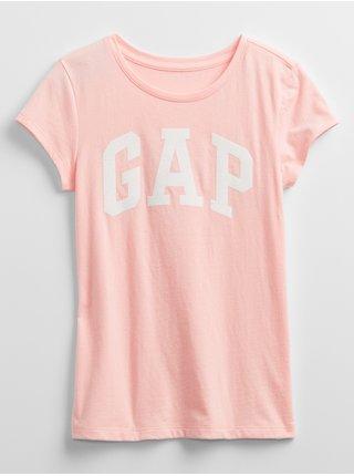 Detské tričko GAP Logo t-shirt Ružová