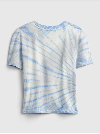 Bílé holčičí dětské tričko GAP Logo ie val gr t - mar