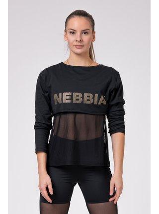 Černé dámské INTENSE Mesh tričko 805