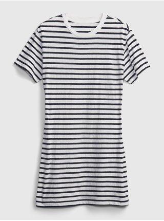 Šaty t-shirt dress Modrá