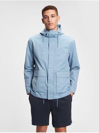 Modrá pánská bunda zip front anor 260alpbl xl