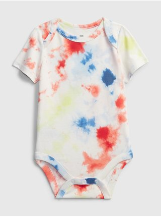 Baby body organic mix and match graphic bodysuit Farebná