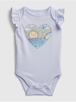 Modré holčičí baby body bf spr org fam