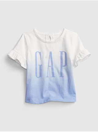 Barevné holčičí baby tričko GAP Logo arch tee