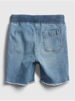 Modré klučičí dětské džínové kraťasy rw dnm short -