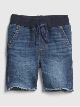 Modré klučičí dětské džínové kraťasy rw dnm short