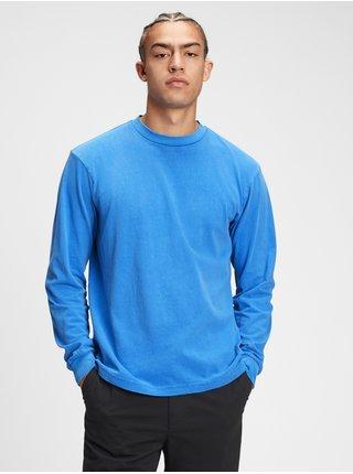 Modré pánské tričko classic