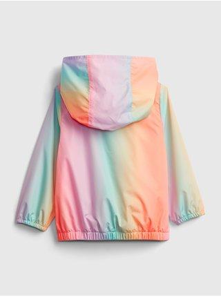 Detské bunda recycled ombre windbuster Farebná