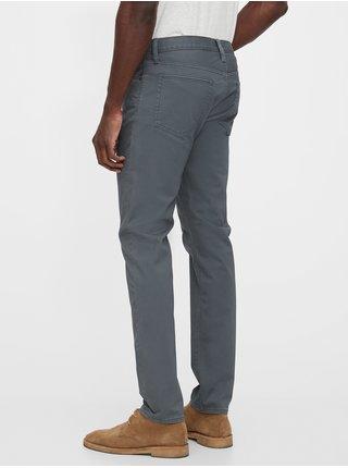Nohavice soft wear slim taper with GapFlex Modrá