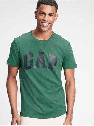 Tričko GAP Logo v-basic Zelená