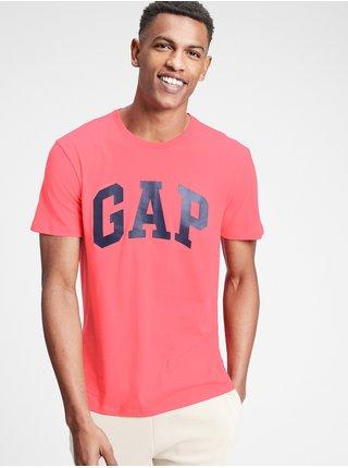 Tričko GAP Logo v-basic Červená