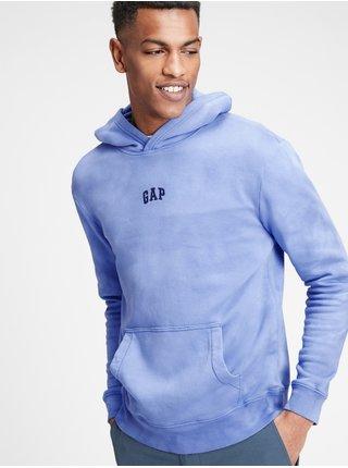 Mikina GAP Logo hoodie Modrá