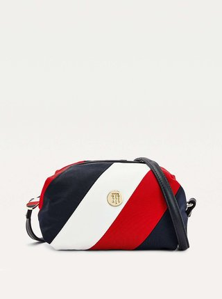 Tommy Hilfiger farebné crossbody kabelka Poppy Soft Crossover Corporate Mix