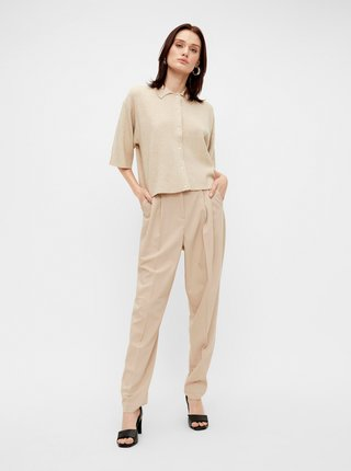 Béžové kalhoty .OBJECT Blace