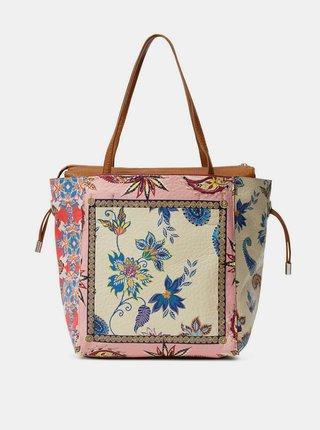 Desigual farebné kabelka Bols Pink Boho Norwitch