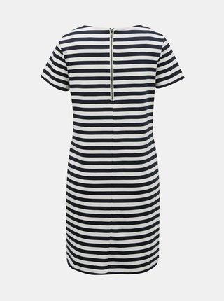 Modro-bílé  pruhované šaty VILA