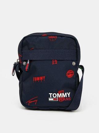 Tommy Hilfiger tmavě modrá taška Campus Reporter Print