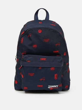 Tommy Hilfiger modré ruksak Campus Dome Backpack Print