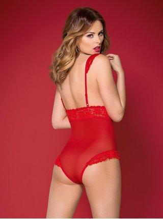 Krásné body 863 - TED - Obsessive červená