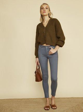Šedé dámské skinny fit kalhoty ZOOT Baseline Anna 2