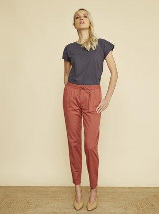 Červené dámské zkrácené kalhoty ZOOT Baseline Edita