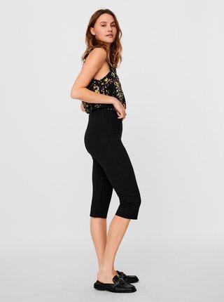 Černé 3/4 kalhoty VERO MODA Lexie
