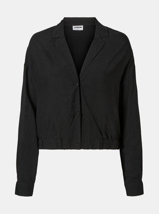 Čierna krátka košeľa Noisy May Fiona