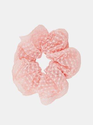 Ružová gumička Pieces Fotta