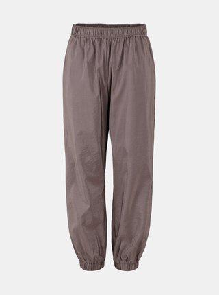 Šedé voľné nohavice Pieces Pylla