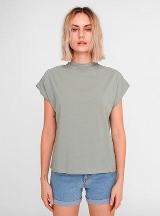 Zelené volné basic tričko Noisy May Hailey